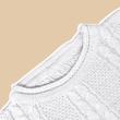 MEKNIS THE LABEL - Knitwear Top Wear - Off White - MEKNIS