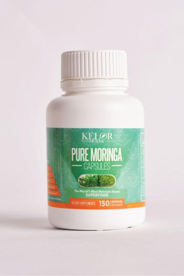 KELOR MOLEK -Pure Moringa Capsule (150 capsules) - MEKNIS