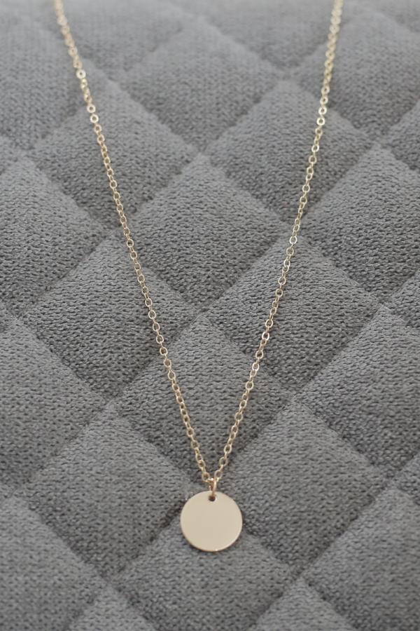 LOVE ME XO - European Round Necklace - MEKNIS