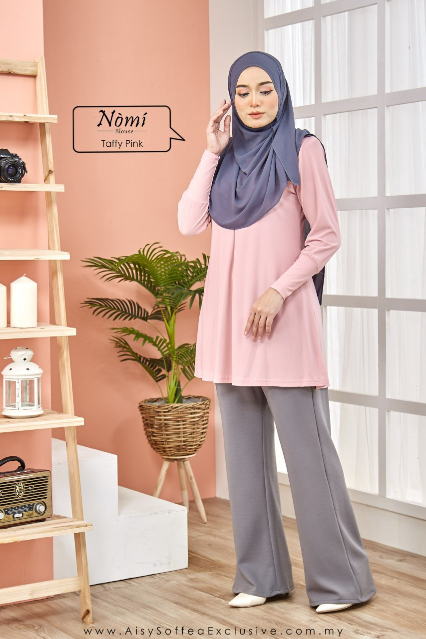 Nomi Blouse Taffy Pink