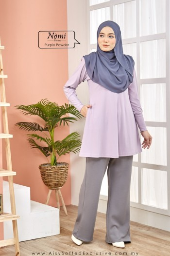 Nomi Blouse Purple Powder
