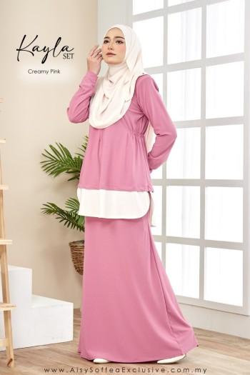 Kayla Set Creamy Pink
