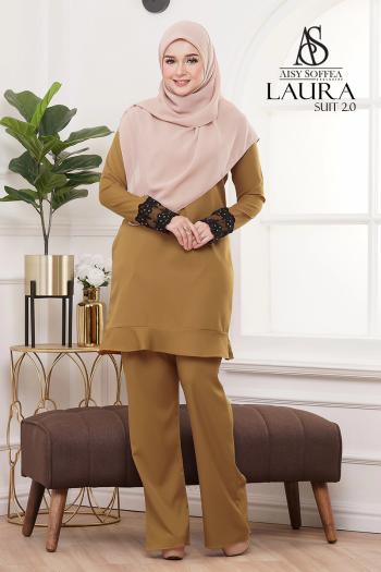 Laura Suit 2.0 Golden Mustard