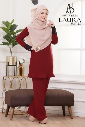 Laura Suit 2.0 Brick Red