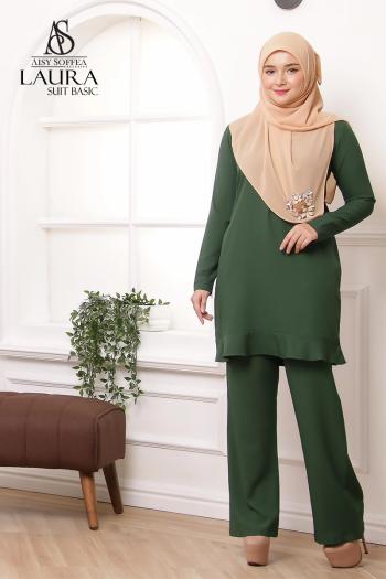 Laura Suit Basic Emerald Green