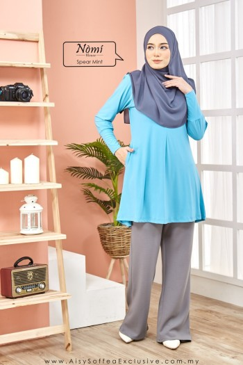 Nomi Blouse Spear Mint