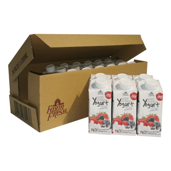 Farm Fresh Yogurt Drink Mixed Berries 200 ml x 24 pks