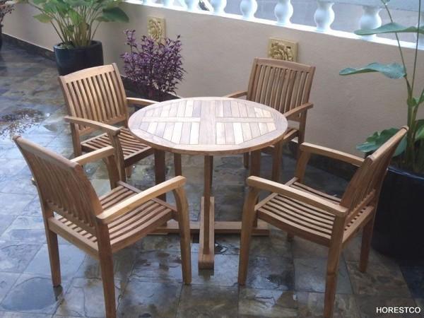 TIARA ROUND TABLE D120 - HORESTCO