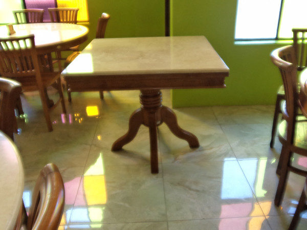 LOUIS MARBLETOP DINING TABLE - HORESTCO