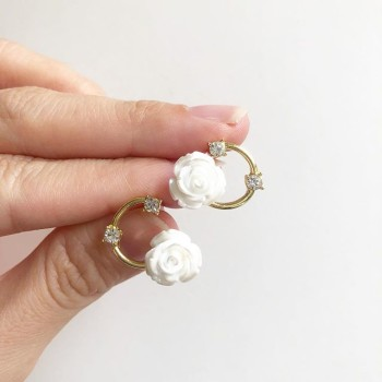 Garden Butterfly Ring O Pearls Earrings - Diary of a Miniature Enthusiast