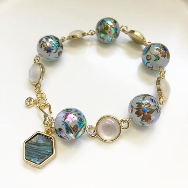 Mystic Swirls Opal Tensha Bracelet - Diary of a Miniature Enthusiast