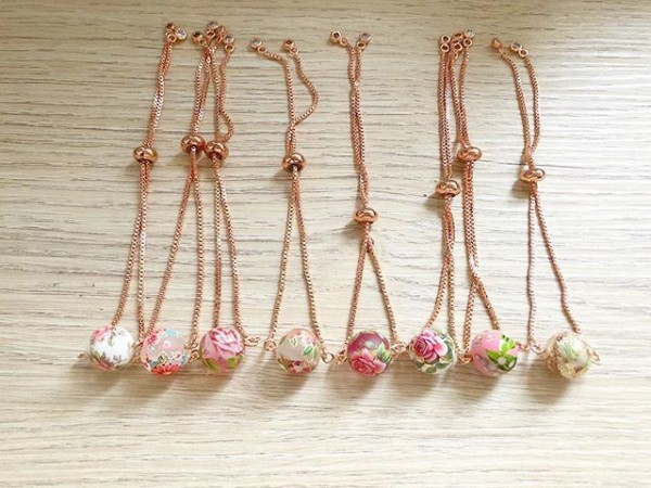 Rose Gold Bracelets - Diary of a Miniature Enthusiast