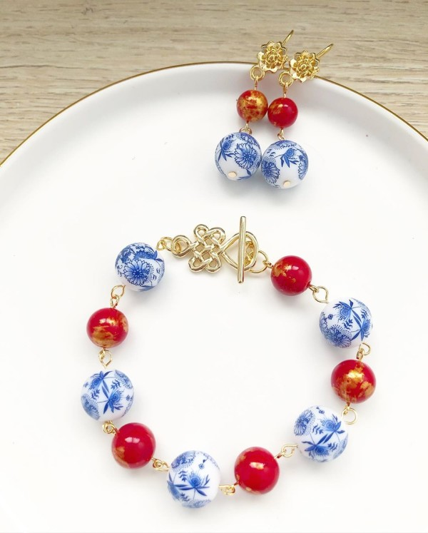 Chinoiserie Chic Bracelet Only - Diary of a Miniature Enthusiast