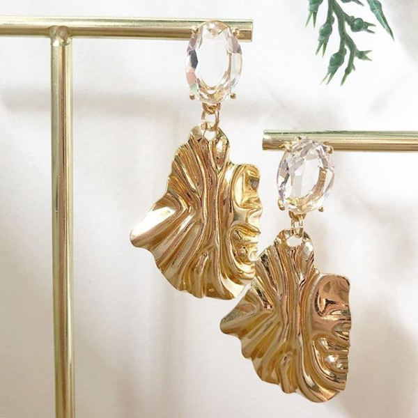 Gold Earrings - Diary of a Miniature Enthusiast
