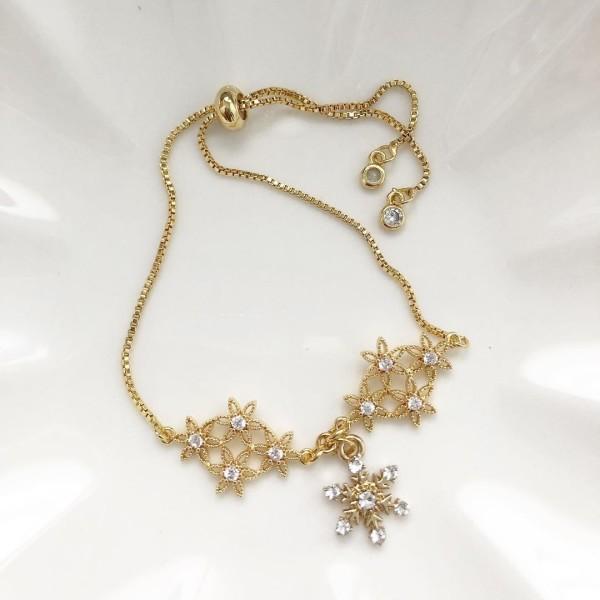 Snowflake I Adjustable Bracelet - Diary of a Miniature Enthusiast