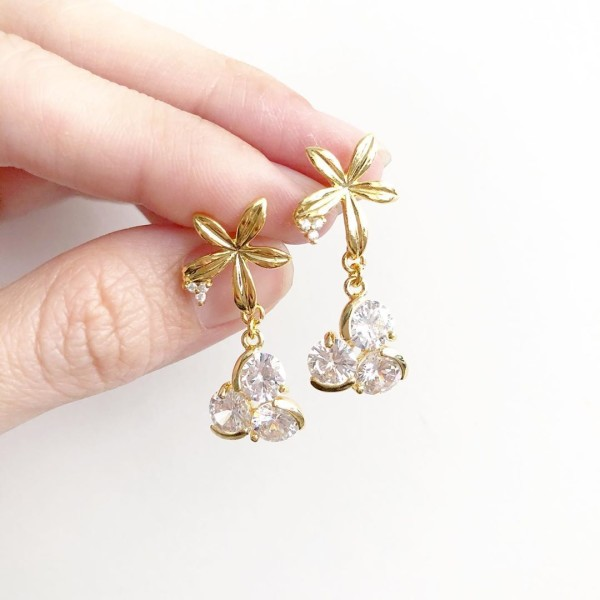 Glitter Elegance Earrings No.6 - Diary of a Miniature Enthusiast