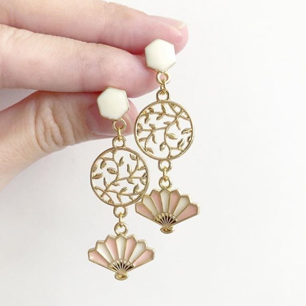 Mid Autumn Blessings Princess Palace Earrings - Diary of a Miniature Enthusiast