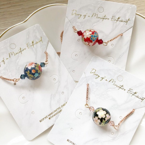 Blue, Red & Black Adjustable Bracelets - Diary of a Miniature Enthusiast