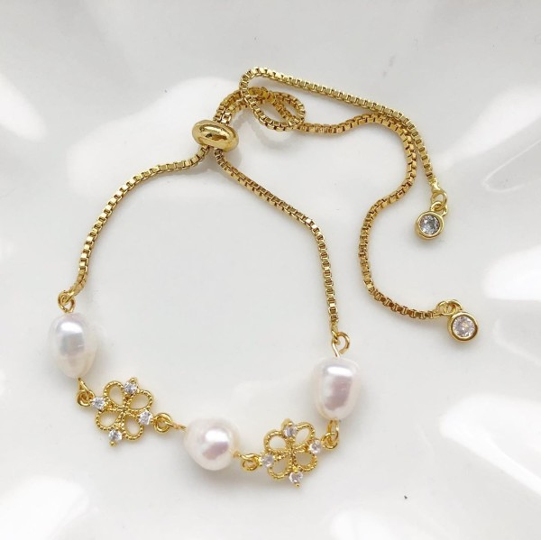 Purity Dainty Adjustable Bracelet - Diary of a Miniature Enthusiast