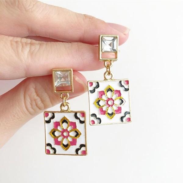Multi Coloured Earrings - Diary of a Miniature Enthusiast