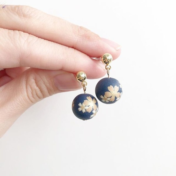 Blue Sakura On Plain Stud - Diary of a Miniature Enthusiast