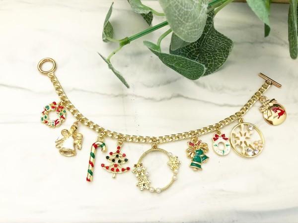Christmas Charm Bracelet - Diary of a Miniature Enthusiast