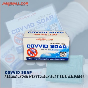 COVVID SOAP by Jamumall.com (10 Unit) - Jamumall.com