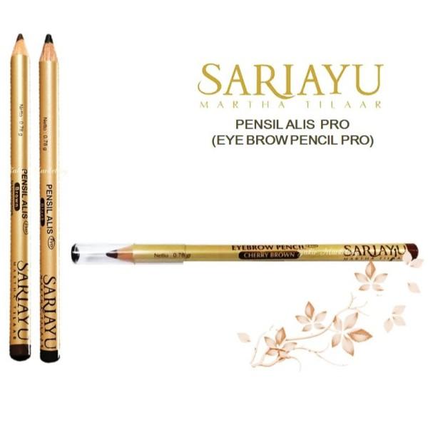 Sariayu Pencil Alis PRO (Eye Brow Pro) 0.78gr (Cherry Brown) - Jamumall.com