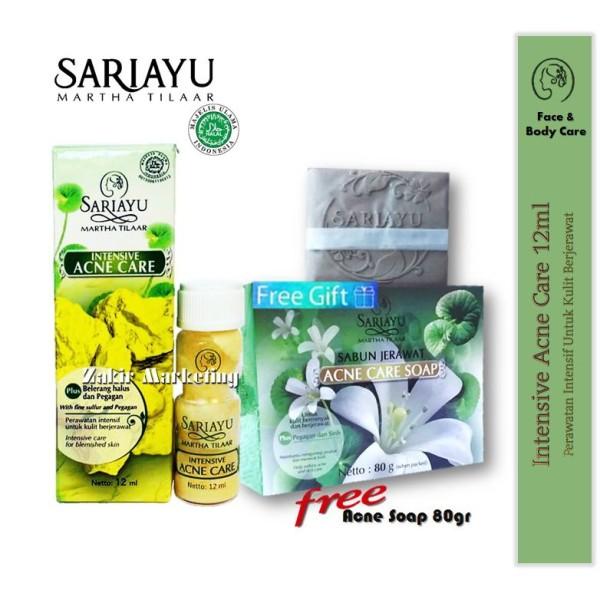 Sariayu Intensive Acne Care Lotion (Mujisat Jerawat) 12ml + FREE  - Jamumall.com