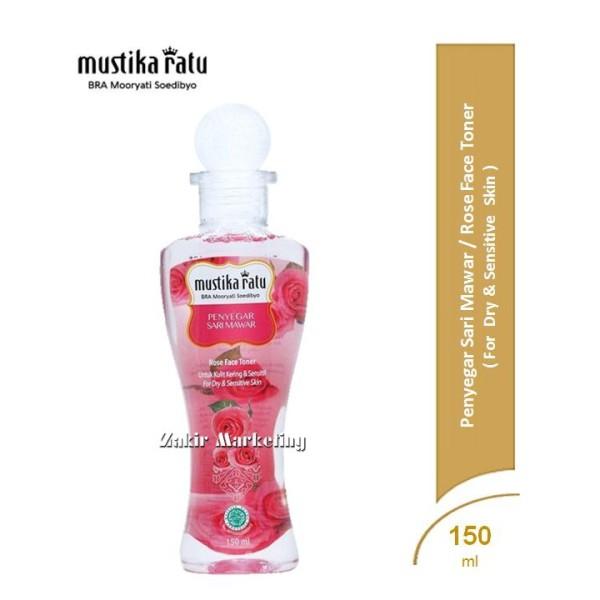 Mustika Ratu Penyegar Sari Mawar (Rose Face Toner)  - Jamumall.com