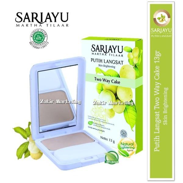 Sariayu Putih Langsat Two Way Cake Skin Brightening - Jamumall.com