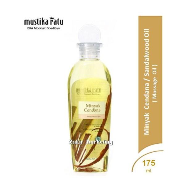 Mustika Ratu Minyak Cendana (Sandalwood Oil) 175ml - Jamumall.com