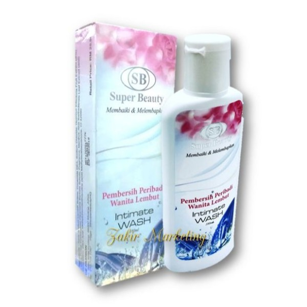 SB Super Beauty Intimate Wash (Perbersih Peribadi) - Jamumall.com