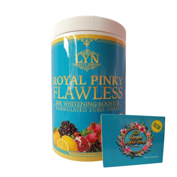 Royal Pinky Flawless + FREE Whitening Soap - Jamumall.com