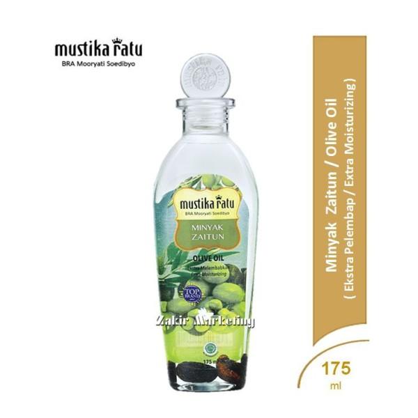 Mustika Ratu Minyak Zaitun (Olive Oil) 175ml - Jamumall.com
