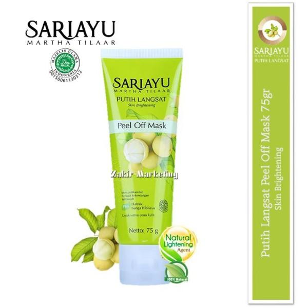 Sariayu Putih Langsat Skin Brightening Peel Off Mask 75gr - Jamumall.com