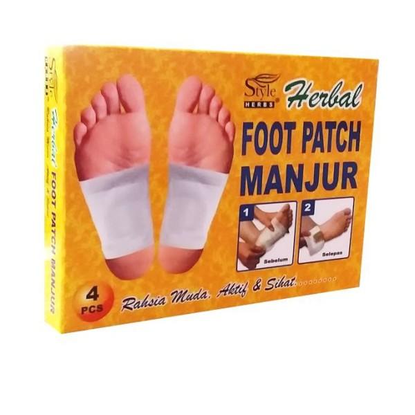 Style Herbs Foot Patch Manjur - Jamumall.com