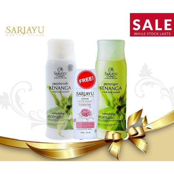 SALE! Sariayu Pembersih + Penyegar Kenanga Refreshing FREE Mawar  - Jamumall.com
