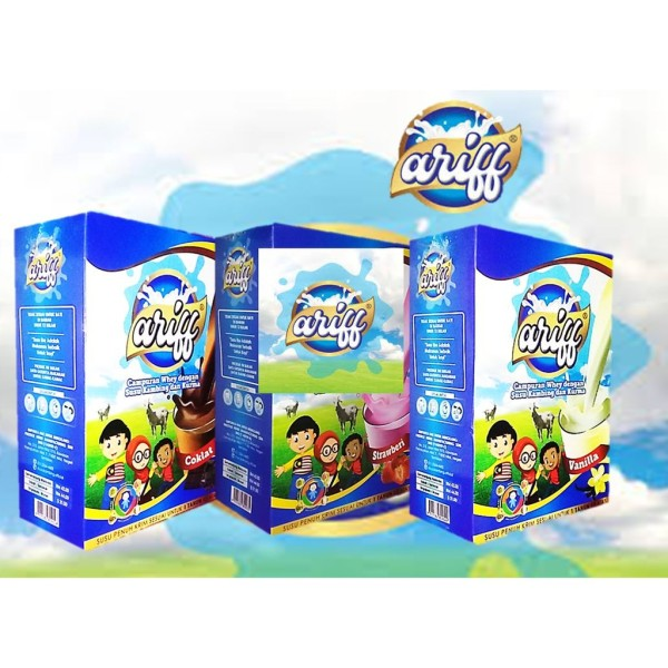 ARIFF Susu Kambing Vanila / Strawberi / Coklat 500gram - Jamumall.com