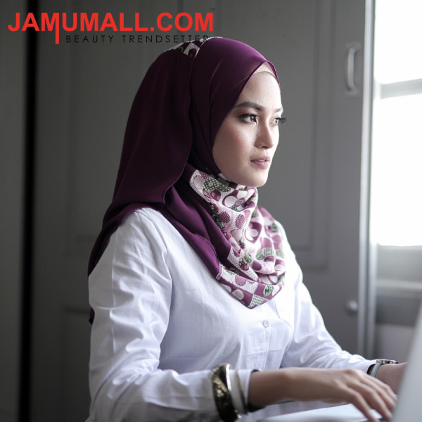 Elegant Purple - Scarf Secret by Jamumall - Jamumall.com