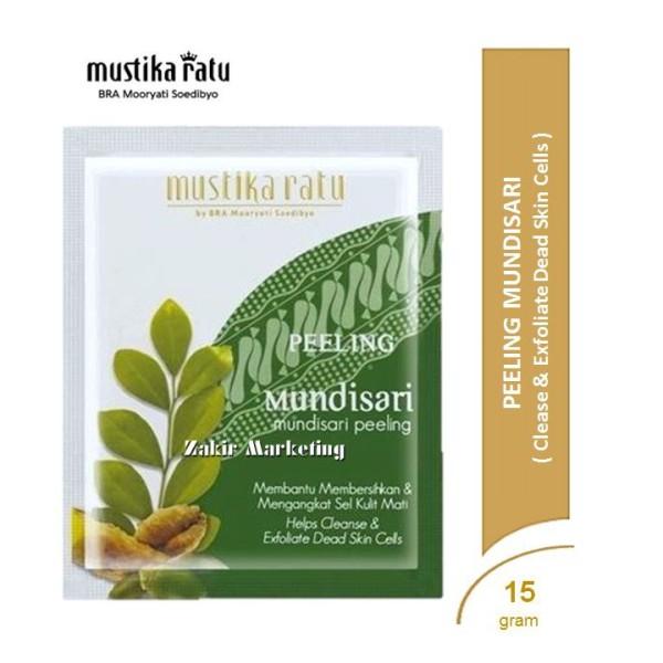 Mustika Ratu Peeling Mundisari (Mundisari Peeling/Face Scrub Powd - Jamumall.com