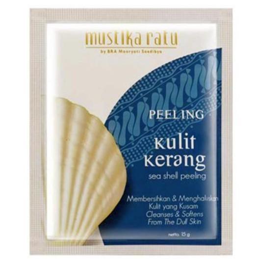 Mustika Ratu Peeling Kulit Kerang ( Sea Shell Peeling/Face Scrub) - Jamumall.com
