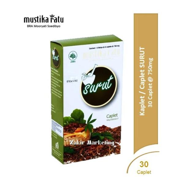 Mustika Ratu Surut Kaplet (Caplet) 750mg - Jamumall.com