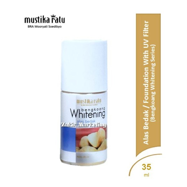Mustika Ratu Bengkoang Whitening Alas Bedak / Foundation With UV  - Jamumall.com