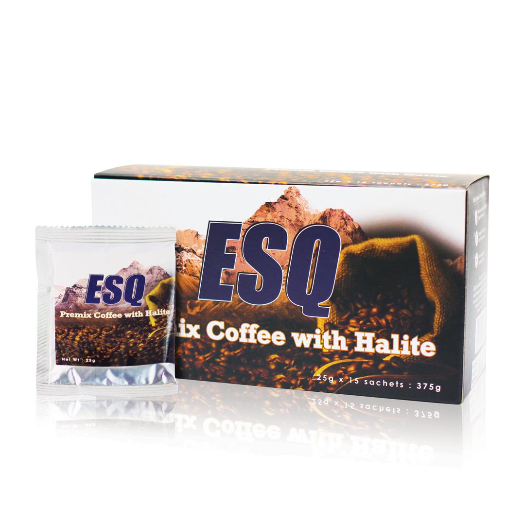 ESQ Premix Coffee with Halite