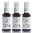 3 x Hand Sanitiser with 11 Essential Oils 50ml - LAVENT