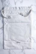 Large Cotton Pouch - LAVENT