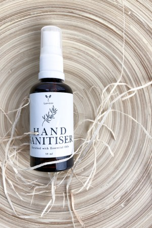 Hand Sanitiser with Essential Oils - LAVENT