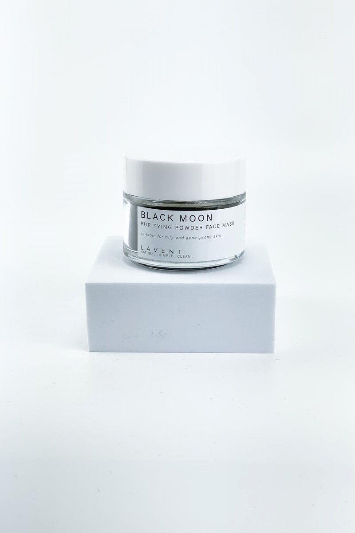 Black Moon Clay Mask - LAVENT