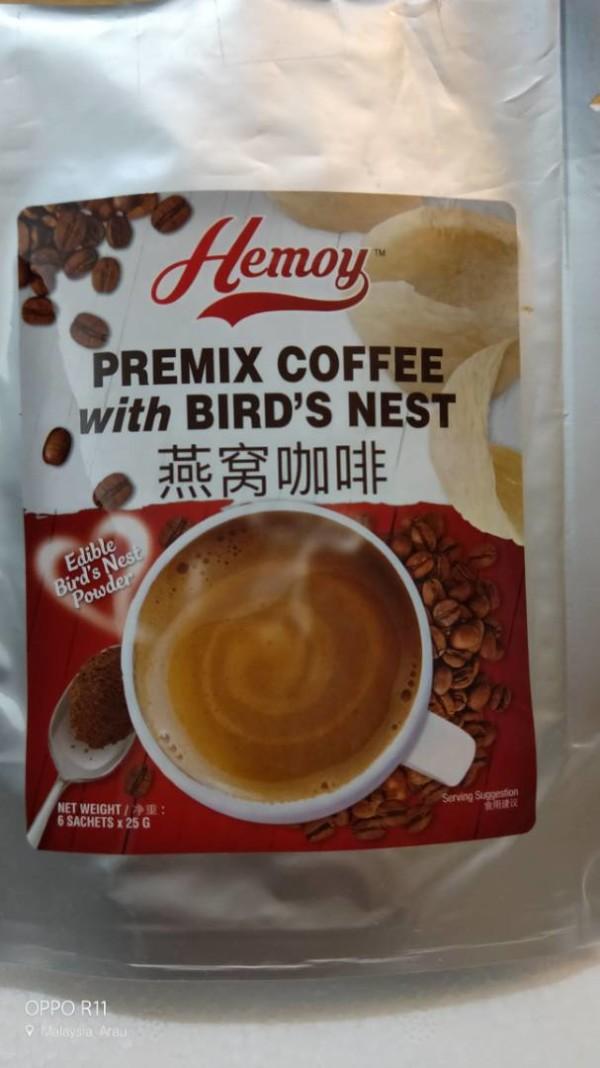 EDIBLE BIRD'S NEST PREMIXED COFFEE/KOPI SARANG BURUNG WALET - kugpis.my